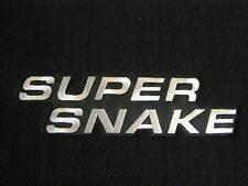 New Shelby Super Snake Mustang Floor Mats OEM 2005 2006 2007 2008 2009