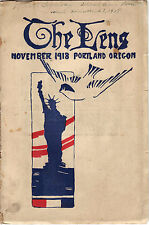 The Lens, Volume XV (November 1918), Washington High, Portland, Oregon