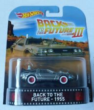 Hot Wheels - Back To The Future III - 1955 - DeLorean Car By Mattel in 2017