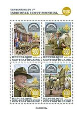 More details for central african rep scouting stamps 2020 mnh world scout jamboree scouts 4v m/s