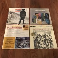 Beethoven Eroica Bach Sonatas Greatest Hits 1812 Russian Masterpieces LP Records