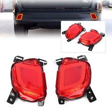 LED Rear Bumper Brake Lights Tail Turn Signal Lamp For Toyota Highlander 15-18