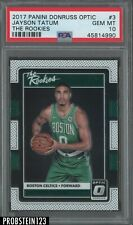 2017 Panini Donruss Optic The Rookies #3 Jayson Taum Celtics RC PSA 10 GEM MINT