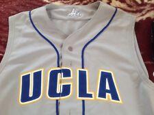 New Mens adidas Ucla Bruins baseball uniform jersey top size 44 made in usa