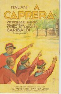 ITALIANI:A CAPRERA VII PELLEGRINAGGIO NAZIONALE ALLA TOMBA DI GIUSEPPE GARIBALDI