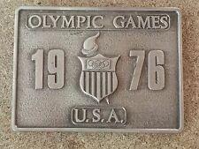1976 Olympic Games U.S.A Bergamot Brass Works Belt Buckle