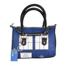 Doctor Who TARDIS Police Box Shoulder Bag Satchel Whovian Womens Handbag Purse