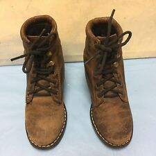 Smoky Mountain Boots - CHILD - Western Cowboy - Leather BROWN 10.5 D