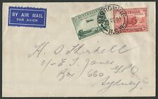 Australian Aerophilately: 21 Dec.1934 (AAMC.480) Narromine - Sydney cover