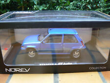 renault 5 r5 super 5 gt turbo phase 2 bleu 1/18 1 18 1:18 norev neuf new