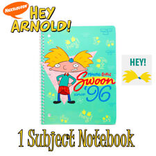 New Nickelodeon Hey Arnold Notebook 70 College Ruled Sheets Making Girls Swoon