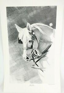 Christopher B Walden Karen's Heart Signed Numbered Horse Print #372/500 Limited