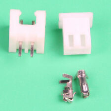 100 Sets JST PH 2.0 2-Pin Connector plug Male and Female with Crimps