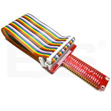 Carte d'extension + nappe 40P 30 cm T-GPIO Raspberry Pi Raspberry Pi B+ IO board