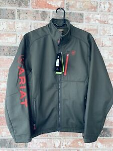 Ariat Men's Logo 2.0 Softshell Jacket Wind And Water Resistant