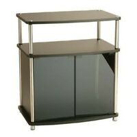 """Convenience Concepts Designs2Go 27"""" TV Stand with Cabinet in Black"""