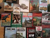 Lot of 15 Hardback Books Panzer Division History Troops Tanks WWII Military ++