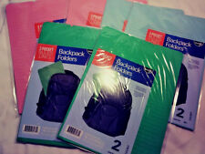12 Pack Find It 3 Pocket Rulled Lines Backpack Folders Letter Size Free Shipping
