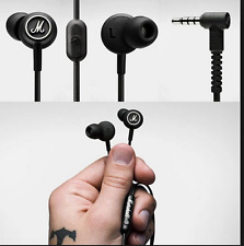 Marshall Mode Genuin Headphones Original Earbuds Earphones Stereo Remote Mic