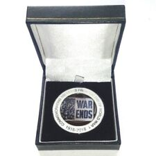 100 Years Since The End Of WW1 World War 1 Commemorative Coin + Free Gift box