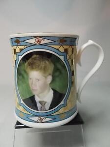 Aynsley Peter Jones PRINCE HARRY 18th BIRTHDAY Mug Limited Edition of 5000