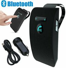 Bluetooth Handsfree Speaker Wireless Phone MP3 Car Kit Sun Visor Clip Drive UK