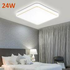 LED Ceiling Light Lamp Square Panel Down Lights Living Room Bedroom Kitchen Wall