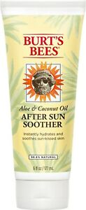 Burt's Bees Aloe and Coconut Oil After Sun Soother, Sunburn Relief Lotion - 6 Ou