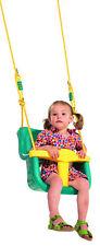 Ondis24 Babysitz mit Rückenlehne und Durchrutschschutz Babyschaukel Schaukel