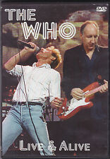 The Who-Live&Alive Music DVD