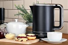 Andrew James Black Electric Cordless Jug Kettle 3000W Fast Rapid Boil Kitchen UK