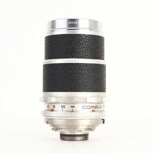 - Voigtlander Super Dynarex f4 135mm Lens DKL Mount for Bessamatic / Ultramatic