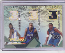 2004-05 LUXURY BOX Three-Point Play Jersey Dwight Howard/Francis/Mobley RC /75