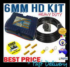 ELECTRIC BRAKE CONTROLLER UNIT GSL REMOTE HEAD MOUNT + HEAVY DUTY TWIN CABLE KIT