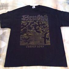 DRUDKH Cursed Sons Shirt XL, Azarath, The Chasm,  Urgehal, Urfaust, Inquisition
