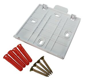 Hive 2 Active Heating Thermostat Wall Mounting Bracket Back Plate Plugs & Screws