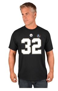 New NWT Franco Harris Pittsburgh Steelers Jersey Style T-Shirt Mens Size Medium