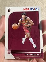 2019-20 NBA HOOPS BASE ROOKIE RC #225 KEVIN PORTER JR CAVALIERS PWE Tracking