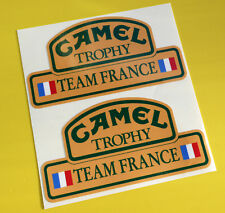 Camel Trophy Team FRANCE 4X4 OFF ROAD ADESIVI DECALCOMANIE LAND ROVER DEFENDER