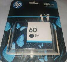 NEW HP 60 Black Ink Cartridge CC640WN Exp Oct/2021