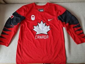 Nike Authentic Team Canada Olympic Hockey Jersey size L