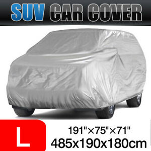 """179""""-190"""" Full SUV Cover Outdoor Sun Dust Resistant UV Protector For Volvo XC60"""