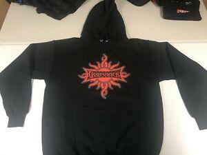 Godsmack New Size Medium Hoodie 2005 Hooded Shirt Licensed Real Giant