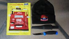 """ALVEY Premiun  fishing  bag & Alvey Beanie & 8.5"""" Alvey knife"""