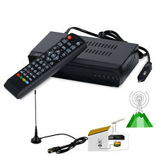 HD ISDB-T Digital Terrestrial Convertor Set Top BOX Receiver + 5dBi Antenna PVR