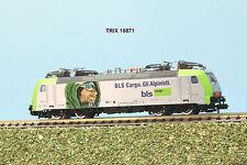 TRIX  art. 16871 locomotiva BLS Re 485 livrea gli Alpinisti scala N