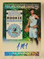 JA MORANT 2019-20 PANINI CONTENDERS GREEN SHIMMER AUTO RC VARATION ROOKIE TICKET