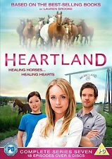 NEW HEARTLAND 7 Complete Series Seven DVD Box Set Lauren Brooke 14 hrs on 5 disc