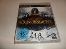 PlayStation 3 PS 3  Der Herr der Ringe: Der Krieg im Norden