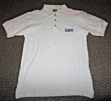 Yamaha WaveRunner Polo Golf Shirt Mens White Short Sleeve Size Small S